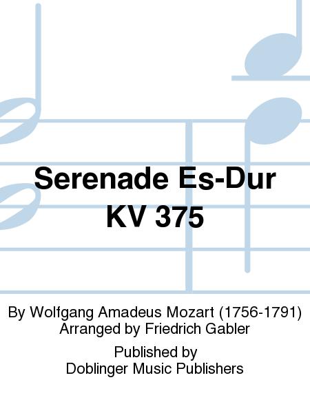 Serenade Es-Dur KV 375