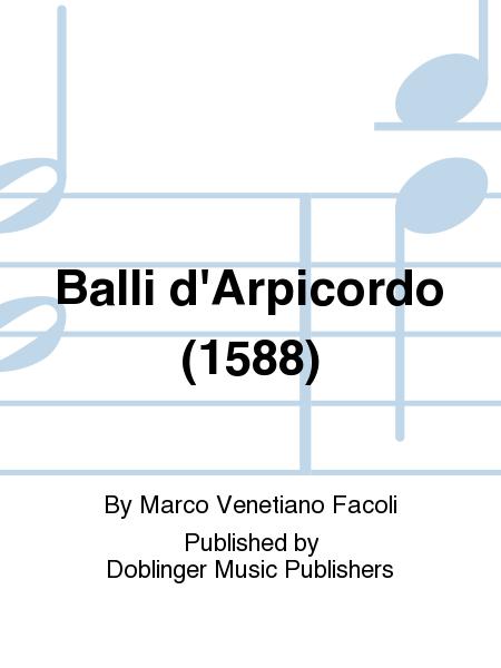Balli d'Arpicordo (1588)