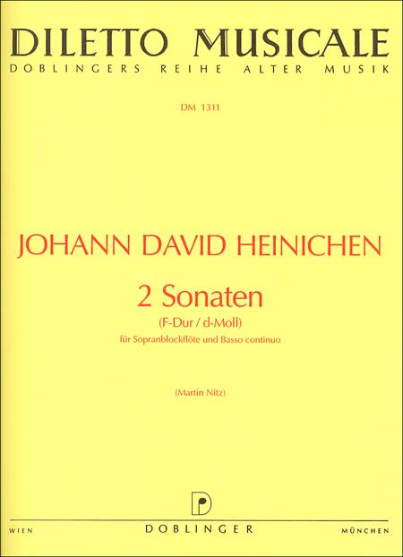 2 Sonaten (F-Dur / d-moll)