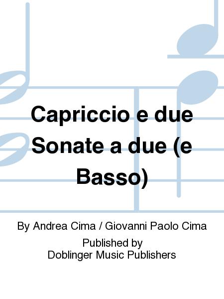 Capriccio e due Sonate a due (e Basso)