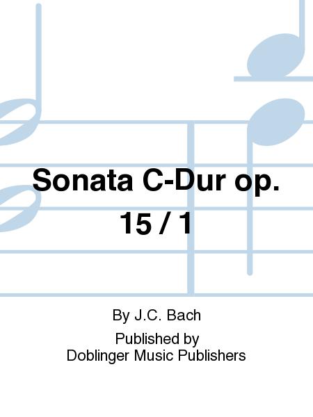 Sonata C-Dur op. 15 / 1