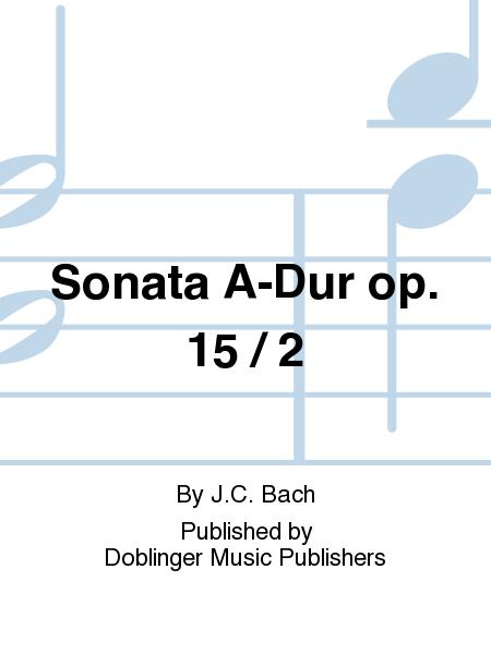 Sonata A-Dur op. 15 / 2