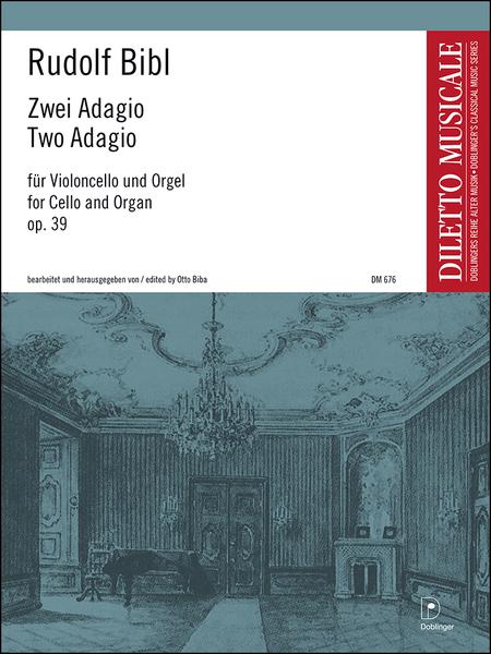 Zwei Adagio op. 39