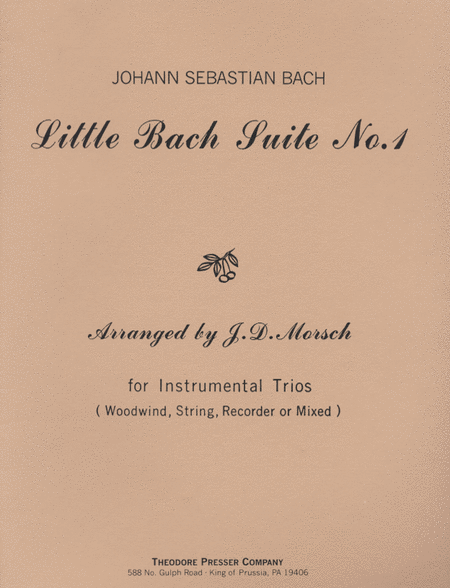 Little Bach Suite 1 - Instrumental Trio