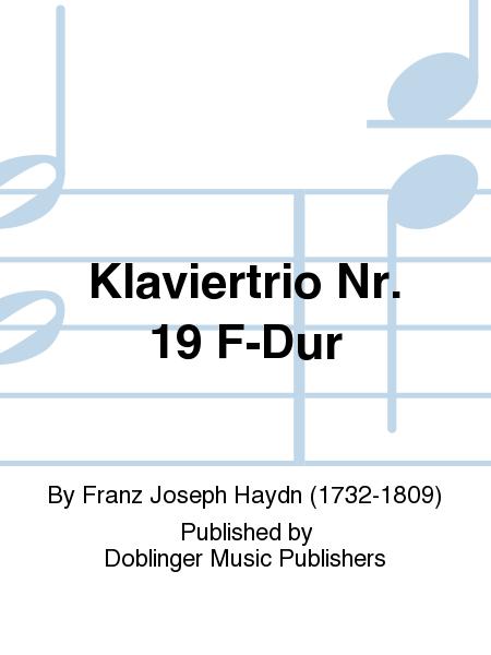 Klaviertrio Nr. 19 F-Dur
