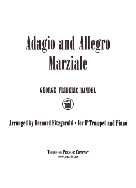 Adagio and Allegro Marziale