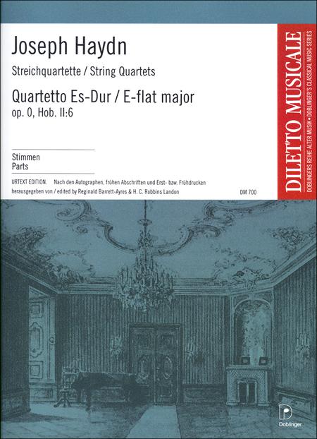 Streichquartett Es-Dur op. 0