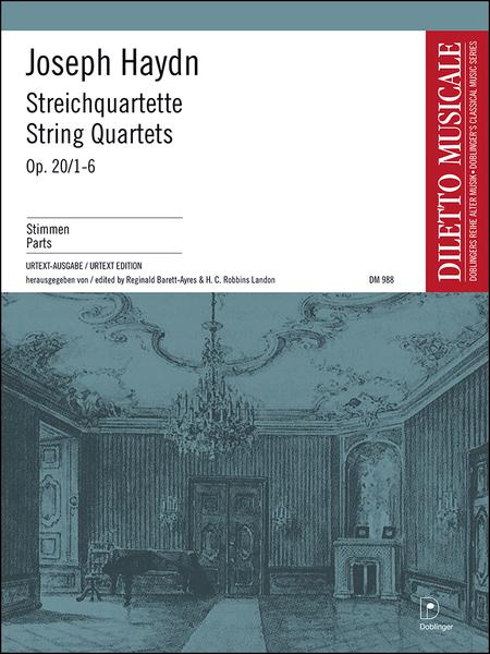 Streichquartette op. 20 / 1-6 Bandausgabe