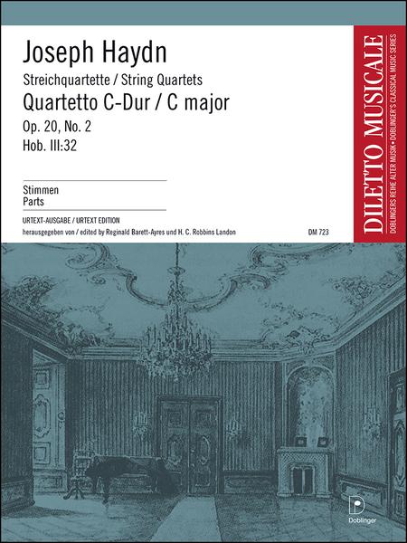 Streichquartett C-Dur op. 20 / 2