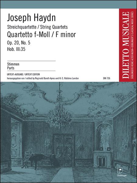 Streichquartett f-moll op. 20/5