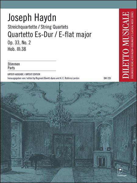 Streichquartett Es-Dur op. 33 / 2