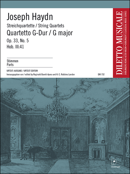 Streichquartett G-Dur op. 33 / 5