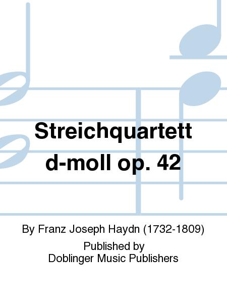 Streichquartett d-moll op. 42