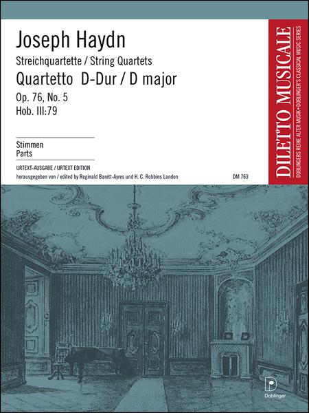 Streichquartett D-Dur op. 76 / 5