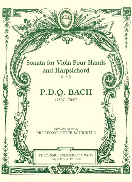 Sonata for Viola Four Hands and Harpsichord