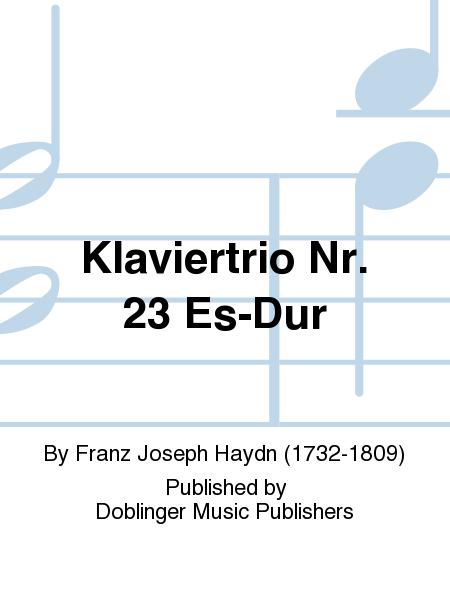 Klaviertrio Nr. 23 Es-Dur