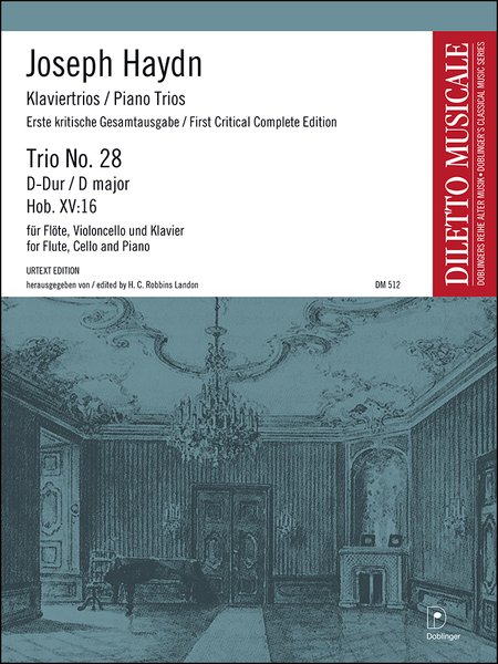 Klaviertrio Nr. 28 D-Dur