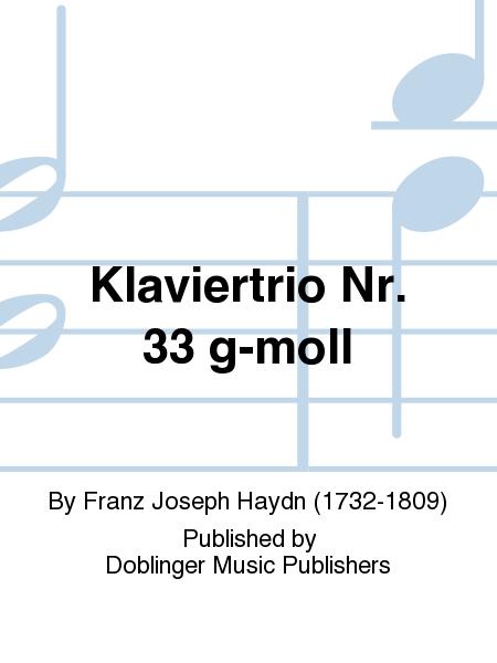 Klaviertrio Nr. 33 g-moll