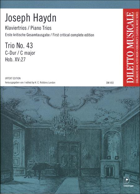 Klaviertrio Nr. 43 C-Dur