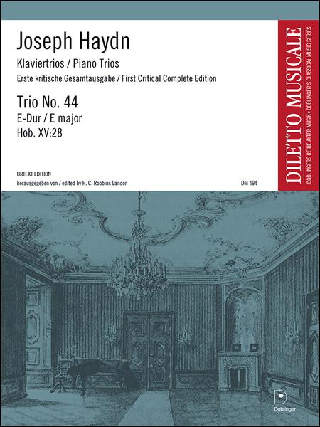 Klaviertrio Nr. 44 E-Dur