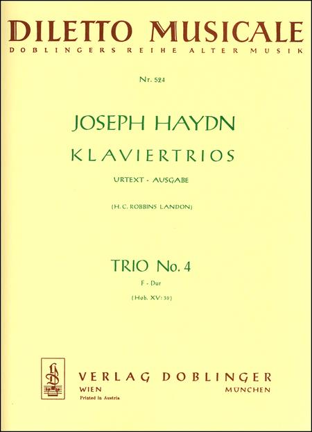 Klaviertrio Nr. 4 F-Dur