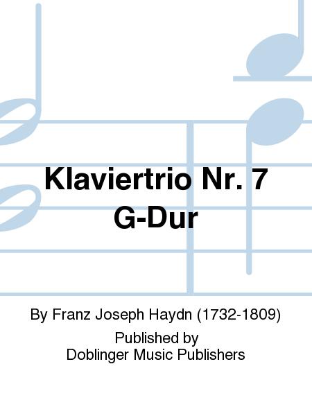 Klaviertrio Nr. 7 G-Dur