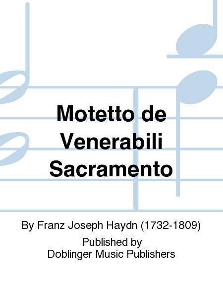 Motetto de Venerabili Sacramento