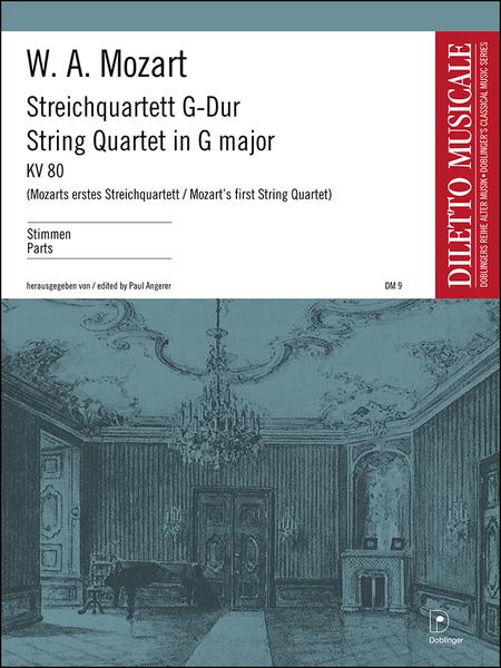 Streichquartett G-Dur KV 80