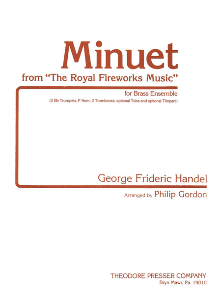 Minuet from