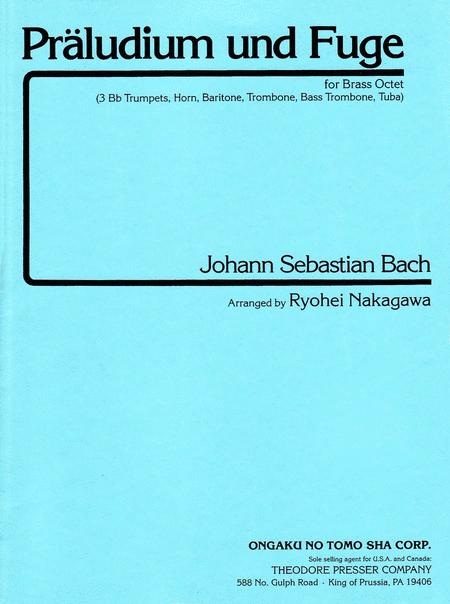 Praludium Und Fuge, BWV 546