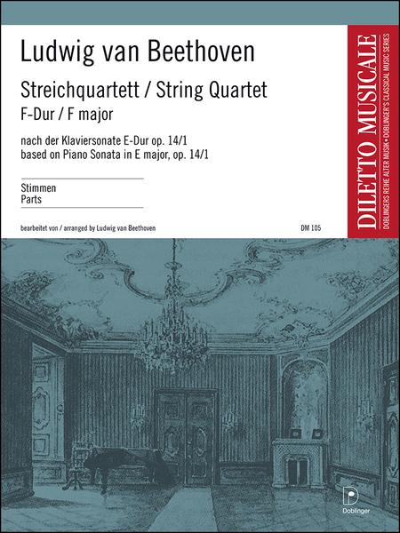 Streichquartett F-Dur nach op. 14 / 1