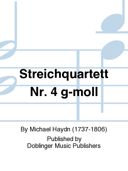 Streichquartett Nr. 4 g-moll