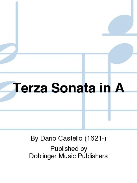 Terza Sonata in A