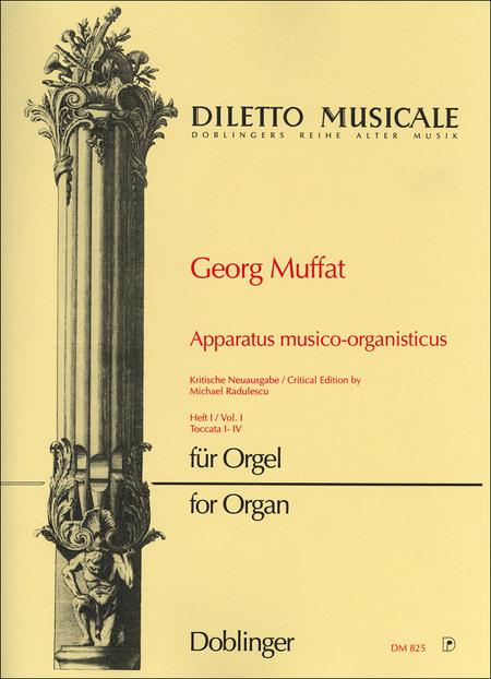 Apparatus musico-organisticus Band 1