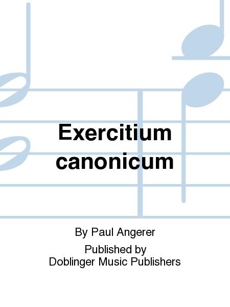 Exercitium canonicum