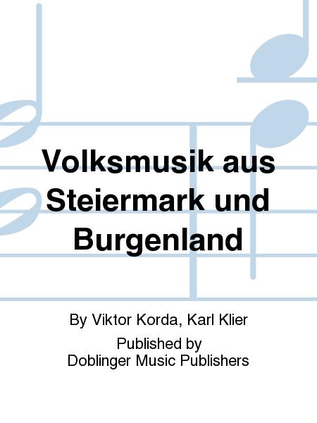 Volksmusik aus Steiermark und Burgenland