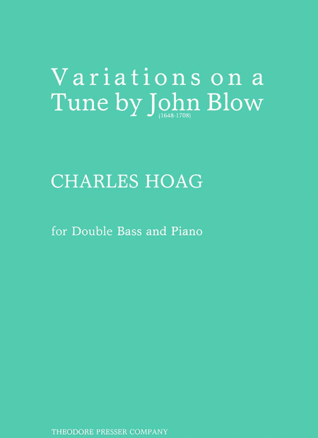 Variations On A Tune by John Blow