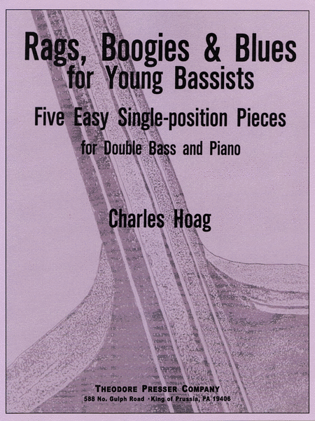 Rags, Boogies & Blues for Young Bassists: Five Easy Single-Position Pieces