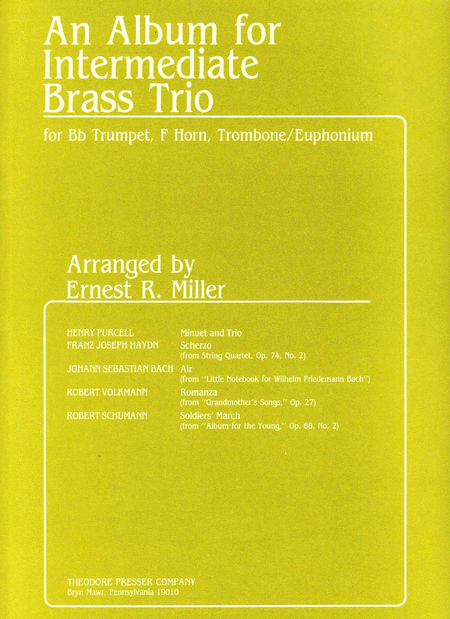 An Album for Intermediate Brass Trio