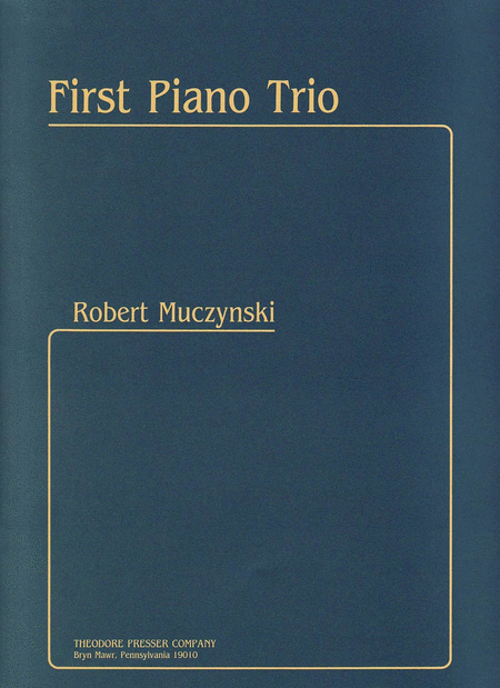 First Piano Trio