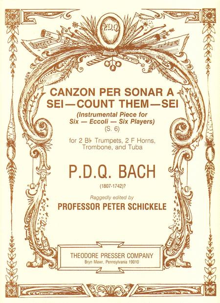 Canzon Per Sonar A Sei- Count Them - Sei ((Instrumental Piece for Six- Eccoli- Six Players))