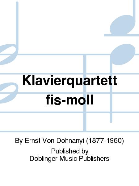 Klavierquartett fis-moll