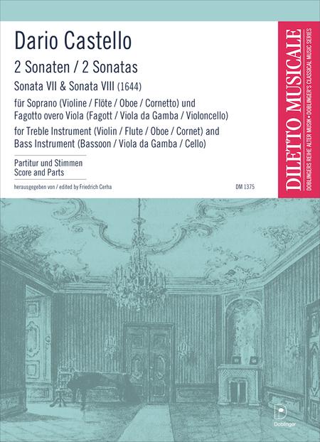 2 Sonaten (VII & VIII)