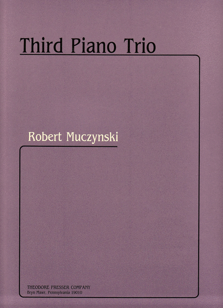 Third Piano Trio
