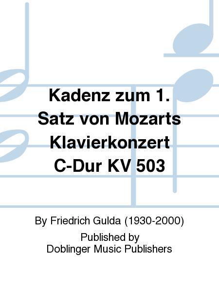 Kadenz zum 1. Satz von Mozarts Klavierkonzert C-Dur KV 503