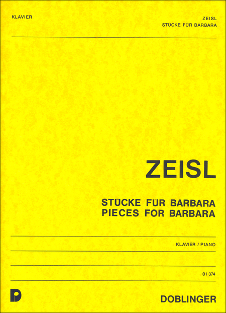 Stucke fur Barbara / Pieces for Barbara