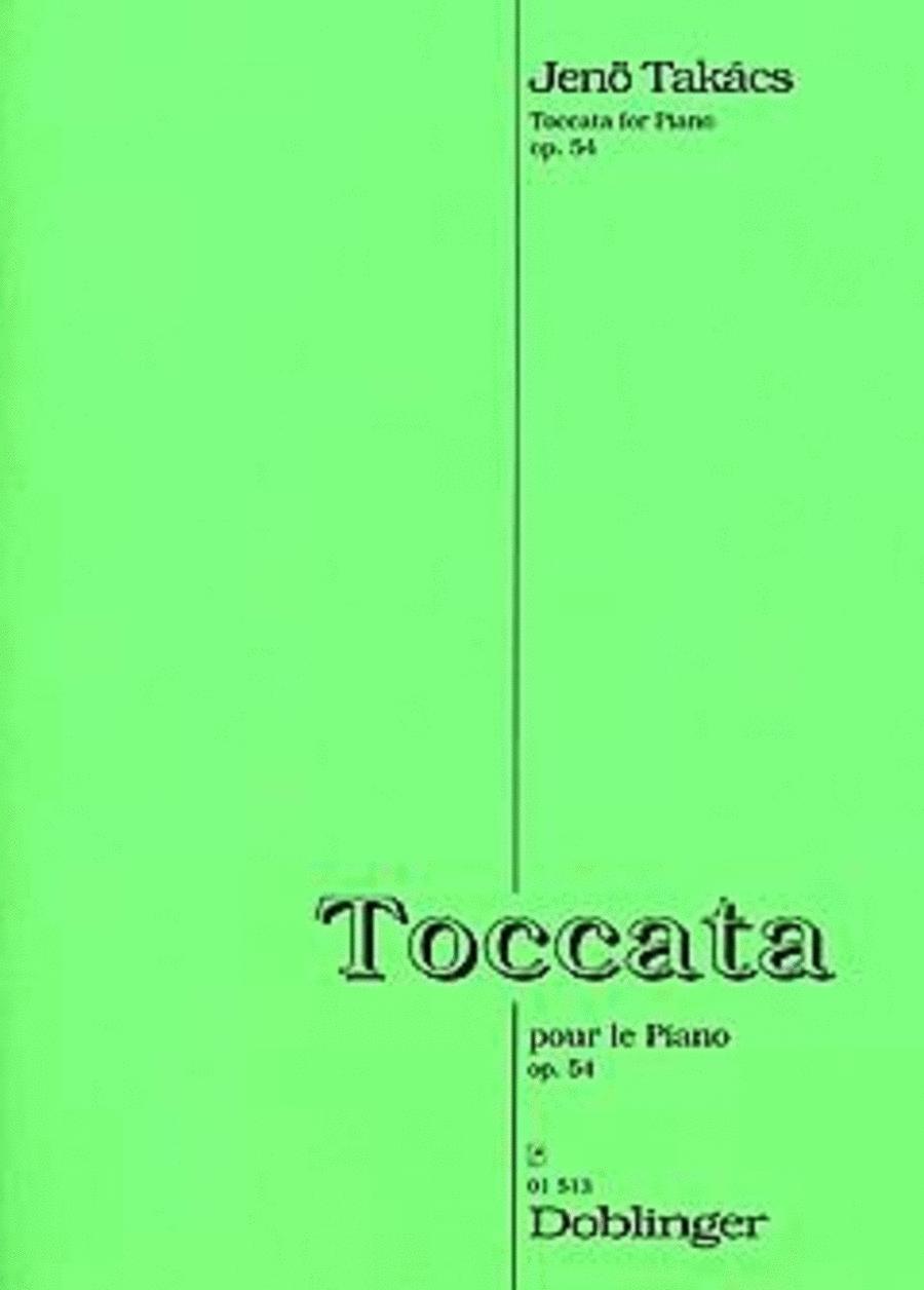 Toccata pour le piano op. 54