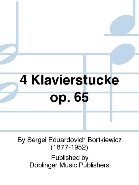 4 Klavierstucke op. 65