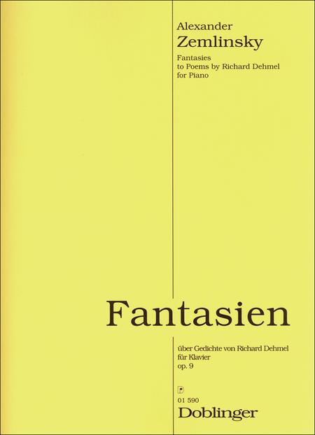 Fantasien uber Gedichte von Richard Dehmel op. 9