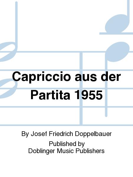 Capriccio aus der Partita 1955